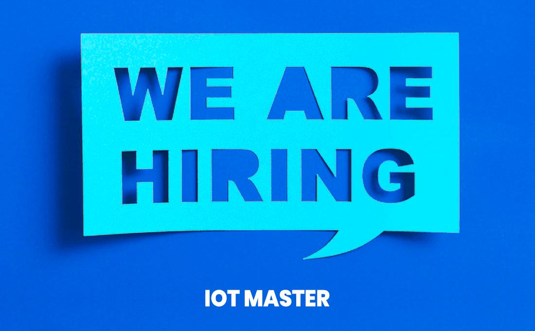 Offerta di lavoro IoT Master